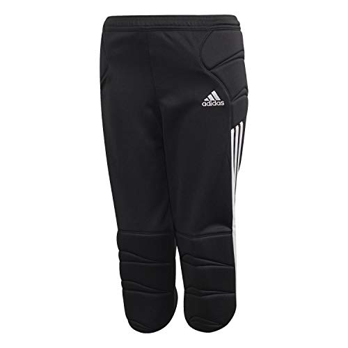 adidas Kinder Tierro Goalkeeper 3/4 Pant Torwarthose, Black, 164