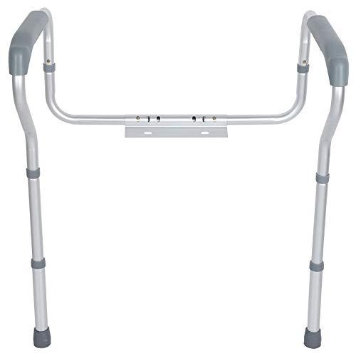 TAKE FANS Barandilla de Inodoro - Baranda de baño de aleación de Aluminio Marco de barandilla de Seguridad para Mujeres Embarazadas discapacitadas