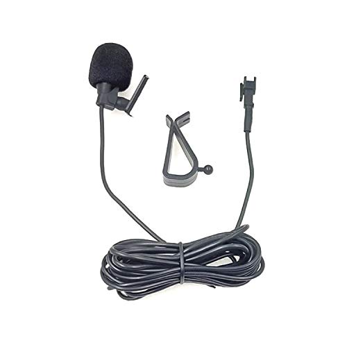 Micrófono, navegación del Coche del micrófono micrófono de Solapa ZJ015MR SM Terminal Principal del Coche de navegación de DVD Externa Pegar micrófono, Longitud: 3m, Liqingshangmao