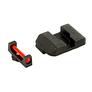 AmeriGlo Special Combination Sight fits Glock 17/19/22/23, Red/Black