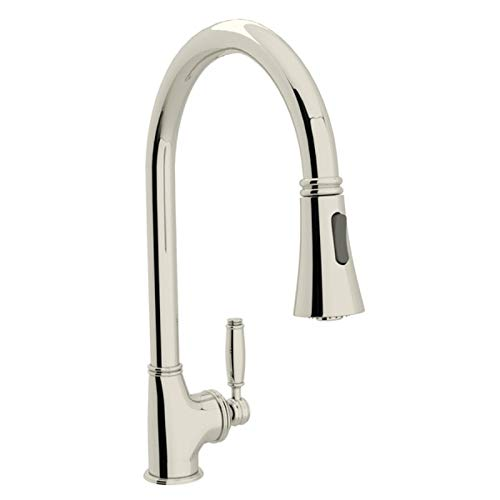Rohl MB7928LMPN-2 Pull-Down FAUCETS, 1.5 GALLON PER MINUTE, Polished Nickel