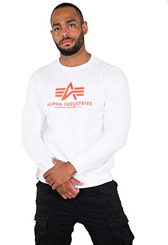 ALPHA INDUSTRIES Herren Sweatshirt Basic Sweater