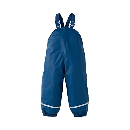 Bornino Salopette imperméable pantalon de pluie bébé tenue de pluie, marine