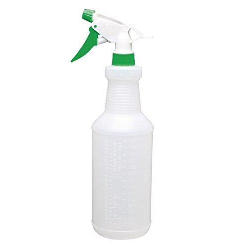 Jantex CD818 - Botella de plástico con pulverizador, 750 ml, color verde
