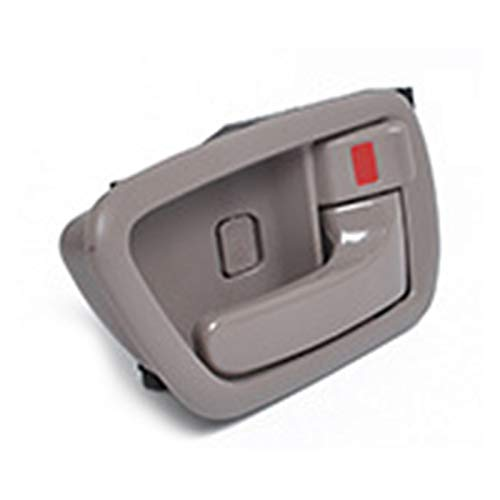 chenchen Coche Interior Puerta Manija Gris Piedra Chrome Lever Izquierda FIT para Toyota Avalon 2000 2001 2002 2003 2004 69206-AC010