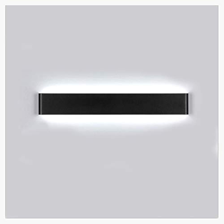 Shirley's Home Moderne LED Spiegel Scheinwerfer, Wohnzimmer Schlafzimmer Gang Lichter Kreative Aluminium Wandleuchte Badezimmer Badezimmerspiegel Scheinwerfer (Farbe   Weies Licht-41cm)