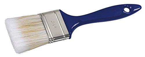 Color Expert 267050 Pinceau qualité professionnelle Spécial Acrylique Manche plastique Bleu N°50