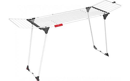 Vileda Infinity Tendedero X-Legs de Resina, Blanco, 117.5x7.5x57 cm