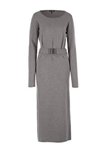 Langes Strickkleid Kleid von Apart - Farbe Grau Melange Gr. 32