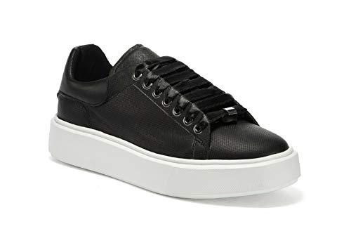 Frau Sneakers, Sneaker Donna, Nero (Nero Nero), 40 EU