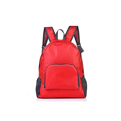 Lxixd Portable pliable sac de voyage sac à dos multi-fonction grande capacité sac à dos sac de voyage grande capacité sac à bandoulière simple sac de montagne en plein air sac de ceinture de rangement
