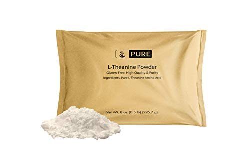 Pure L-Theanine Powder (8oz) Gluten-Free, Sustainably Sourced