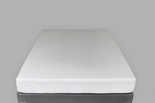 "Excel Sleep American Made - 6"" Gel Memory Foam Hospital Bed Mattress, Medium-Firm Feel (36 x 80, Hospital Bed Sizes)"