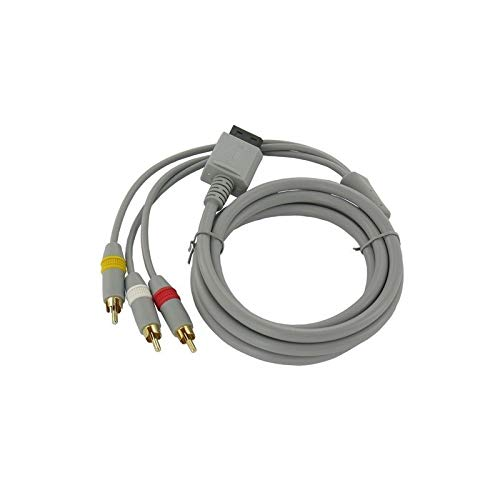 Wii AV kabel met 3 Tulp stekkers