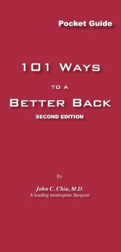 101 Ways to a Better Back, Second Edition (English Edition)
