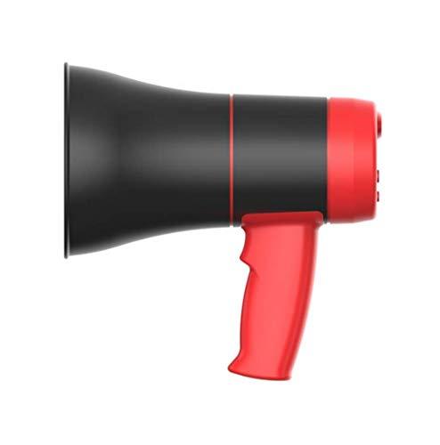 De mano de llamada megáfono 240 segundos Abs resistente al desgaste pequeño altavoz al aire libre de la propaganda de grabación de llamadas de carga megáfono altavoz de la sirena 18 X 9 X 20 cm YCLIN