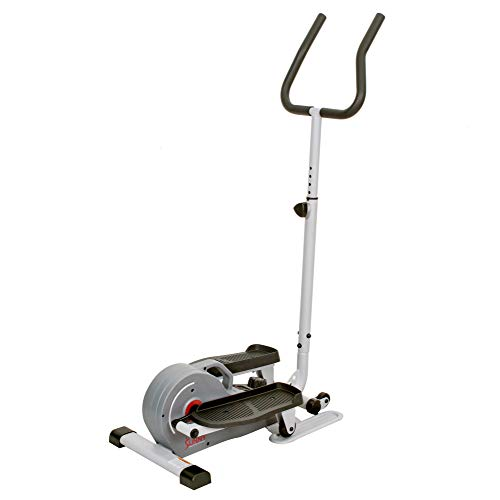 Product Image 13: Sunny Health & Fitness Magnetic Standing Elliptical with Handlebars – SF-E3988, Grey