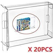 WICAREYO Caso CIB 20pcs Carrelli Clear Box Sleeve per Gameboy Color Advance GBA GBC cartuccia Protector