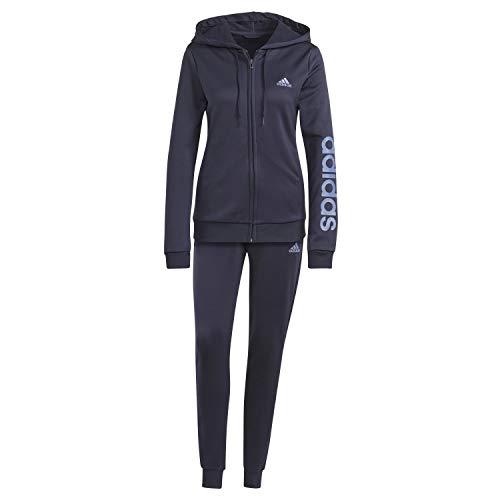 adidas Essentials, Tuta Sportiva Donna, Inchiostro Leggenda/Blu Equipaggio, M