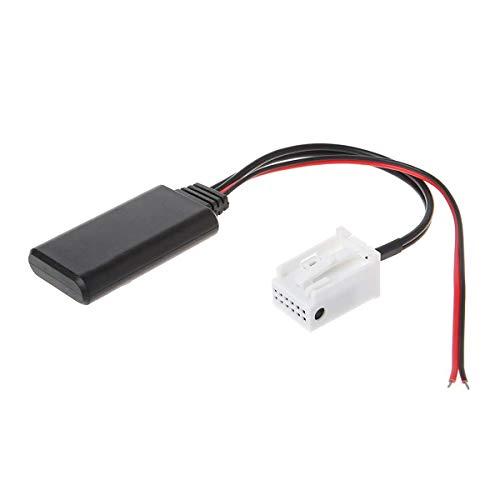 Shine Adaptateur Bluetooth pour Peugeot 307 407 508 Citroën C5 C6 sans Fil CD stéréo AUX Music Interface pour Peugeot Citroën avec RD4 RD45 Blaupunkt VDO Bosch Radio