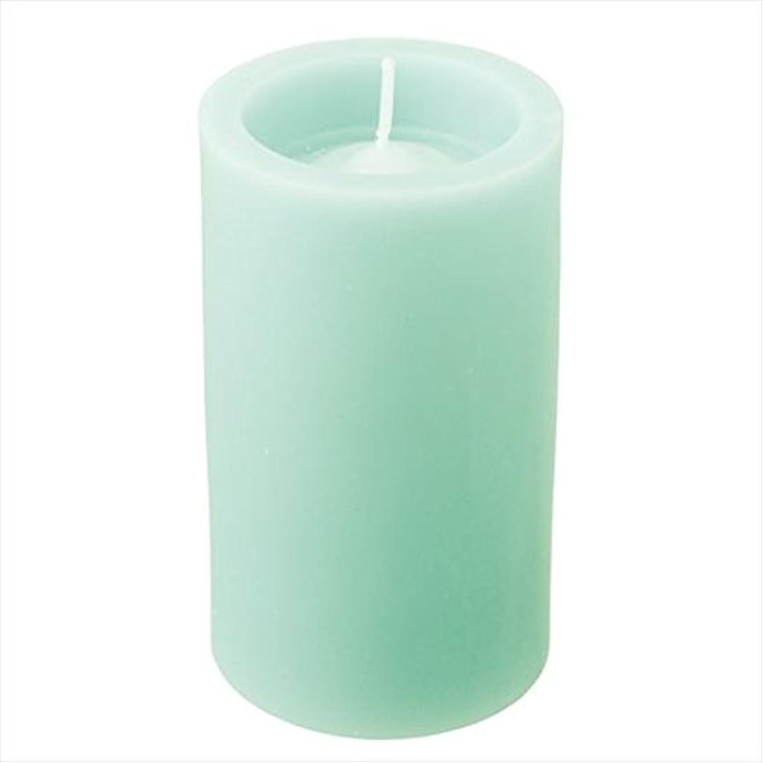 ふくろう貨物申し込むカメヤマキャンドル( kameyama candle ) ロイヤルラウンド50 「 ライトグリーン 」