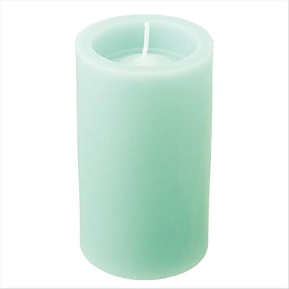 追い出す組み合わせうんざりカメヤマキャンドル( kameyama candle ) ロイヤルラウンド50 「 ライトグリーン 」