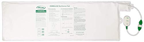 Replacement/Add-on Cordless Bed Sensor Pad - 10in x 30in Works with 433-EC and 433-CMU only