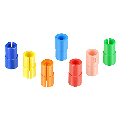 Multi Pen Adapter Holder Compatible with Cricut (Explore Air, Explore Air 2, and Maker),7Pack Pen Adapter Set Compatible with (Sharpie/Bic/Crayola Fine line Marker), No Need for Depth Calibration