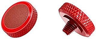 JJC SRB-R RED Soft Release Button Deluxe Red Shutter Button for Fuji Fujifilm X-T20 X-T10 X-T2 X-PRO1 X-PRO2 X100 X100S X1...