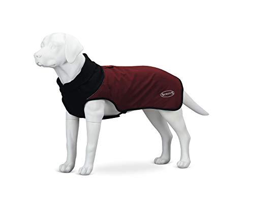 Scruffs Hundemantel, gesteppt, Thermisch, 50 cm, Größe M, Burgunderrot, 320 g