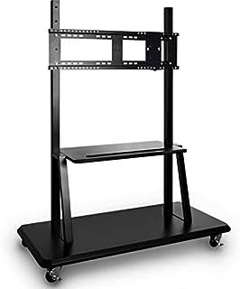 ViewSonic VB-STND-001-2C Trolley wandhouder met wielen voor monitoren 55/65/70 en 84 inch in hoogte verstelbaar