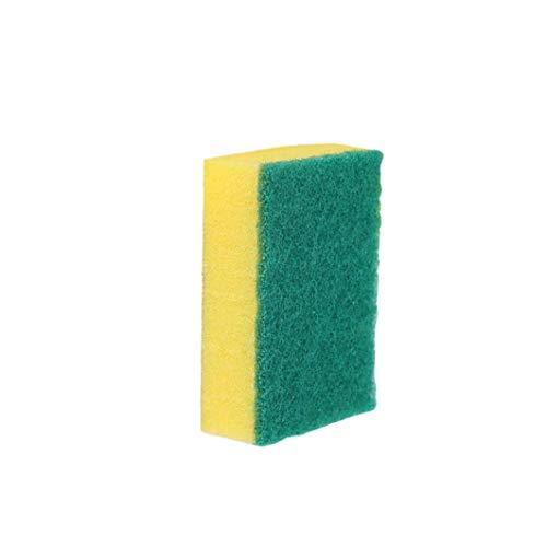DierCosy Lavavajillas Esponja Toallitas Cien paño de Limpieza de Doble Cara del Cepillo de Limpieza para Lavar Platos Pot Pot paño 11 * 7 * 3cm