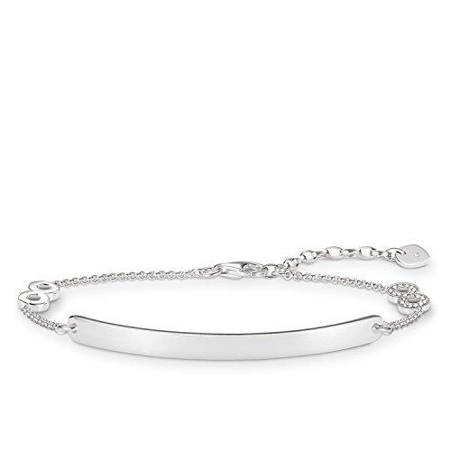 Thomas Sabo Cadena pulsera Mujer plata - D_LBA0001-725-14-L19v