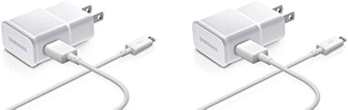 کابل داده آداپتور 2 آمپر سامسونگ برای موبایل های سامسونگ ، 2 بسته - بسته بندی غیر خرده فروشی - سفید
