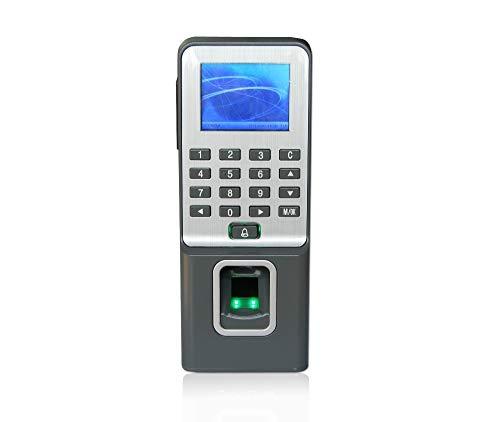 Zeitmaschine 26-stellige LCD-Schirm-Fingerabdruck-Zugriffskontrollen-Anwesenheits-biometrische Zugriffs Swipe RFID-Karte Option Zugang Für Büro, Firma, Schule