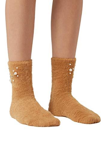 Calzedonia Damen Knöchelsocken mit kostbarer Applikation