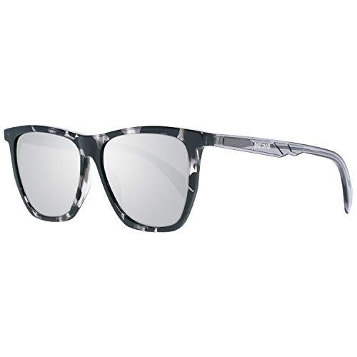 Just Cavalli Unisex-Erwachsene JC837S 55C 56 Sonnenbrille, Braun (Avana Colorata/Fumo Specchiato)