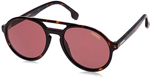 Carrera Pace W6 086 Gafas de sol, Marrón (Dark Havana/Burgundy Pz Ar), 53 Unisex-Adulto