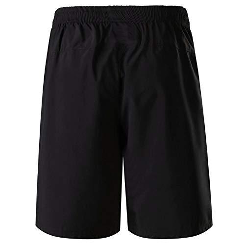 hezeyang Pantalones Cortos Deportes De Secado Rápido Casual Pantalones Cortos De Tul De Cinco Puntos De Los Hombres Pantalones De