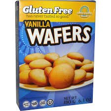 Kinnikinnick Gluten Free Vanilla Wafers -- 6.3 oz pack of 3