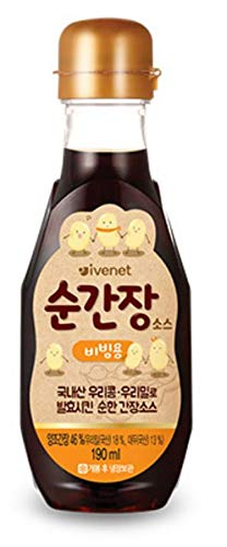 [ivenet] baby salt pure salt baby soy sauce broth baby sesame oil (Baby/Kids Soy Sauce [Regular])