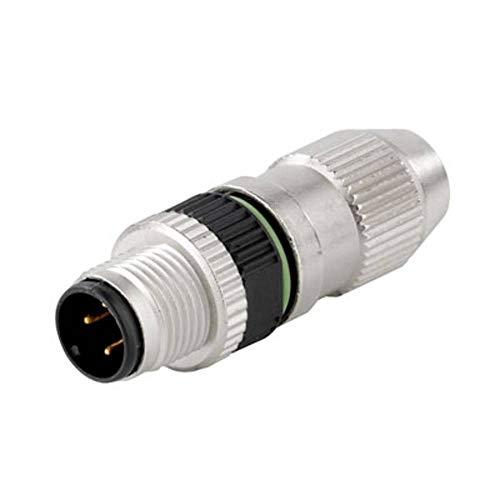 Weidmüller–Industrielle sais-4-idc M12Nadel Kleine runde oder Stecker Stecker auf 4polig (Stecker)