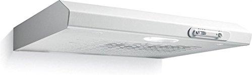 Candy CFT610 Dunstabzugshaube, 60 cm, silberfarben