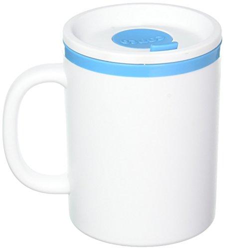 microwavable ceramic mug with lid - 8