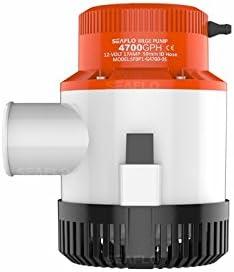 SEAFLO 4700 GPH Marine Super intense SALE Miami Mall 12v Non-Automatic Pump Bilge
