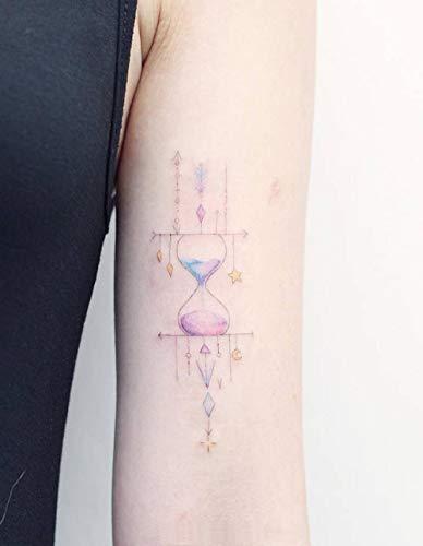 Sanduhr Tattoo Aufkleber wasserdichte dauerhafte Simulation mädchenhafte original handbemalte Arme