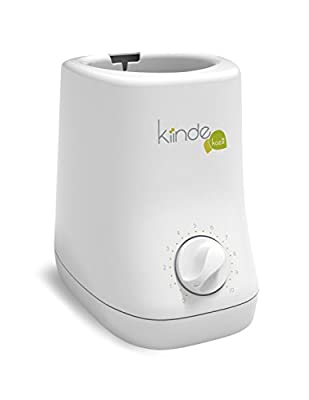 Kiinde Kozii Baby Bottle Warmer and Breast Milk Warmer with Safe Warm Water Bath Technology and Auto Shutoff for Warming Breast Milk, Infant Formula and Baby Food