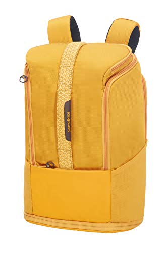 Samsonite Hexa-Packs Zaino per Laptop Medium Espandibile, 49 cm, Giallo Scuro