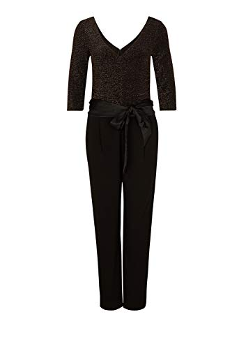 s.Oliver BLACK LABEL eleganter Damen-Jumpsuit, schwarz - 5