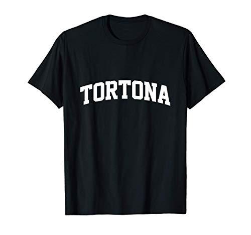 Tortona Vintage Retro College Sports Arch Maglietta
